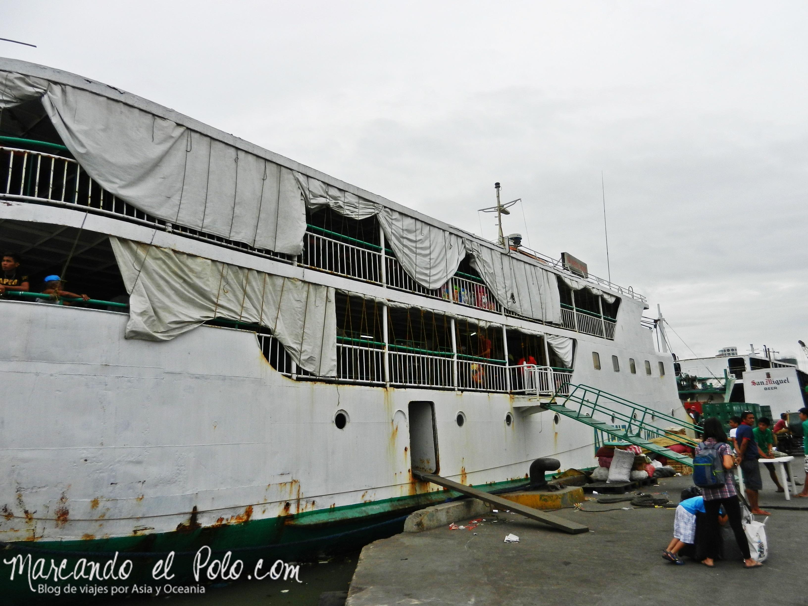 Viajar a Filipinas: viajar por mar