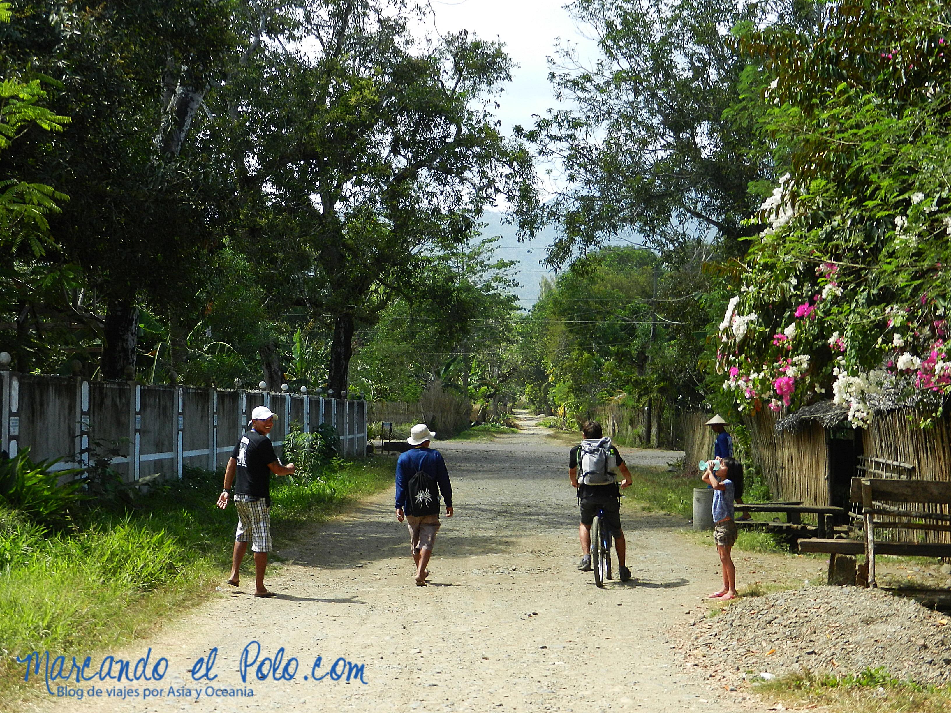 Cárcel sin rejas, Filipinas: interior
