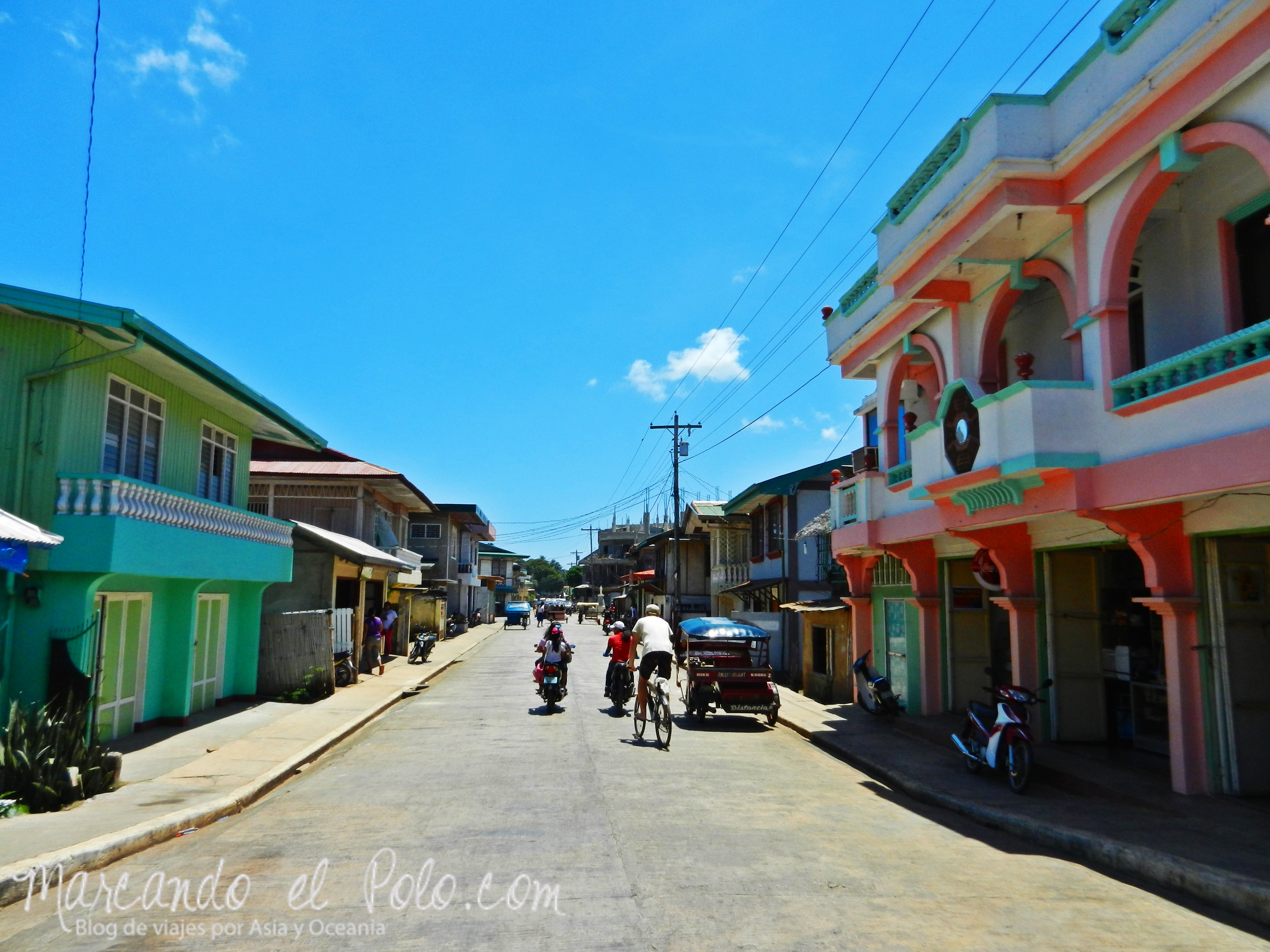 Islas Cuyo, Filipinas: tranquilas calles