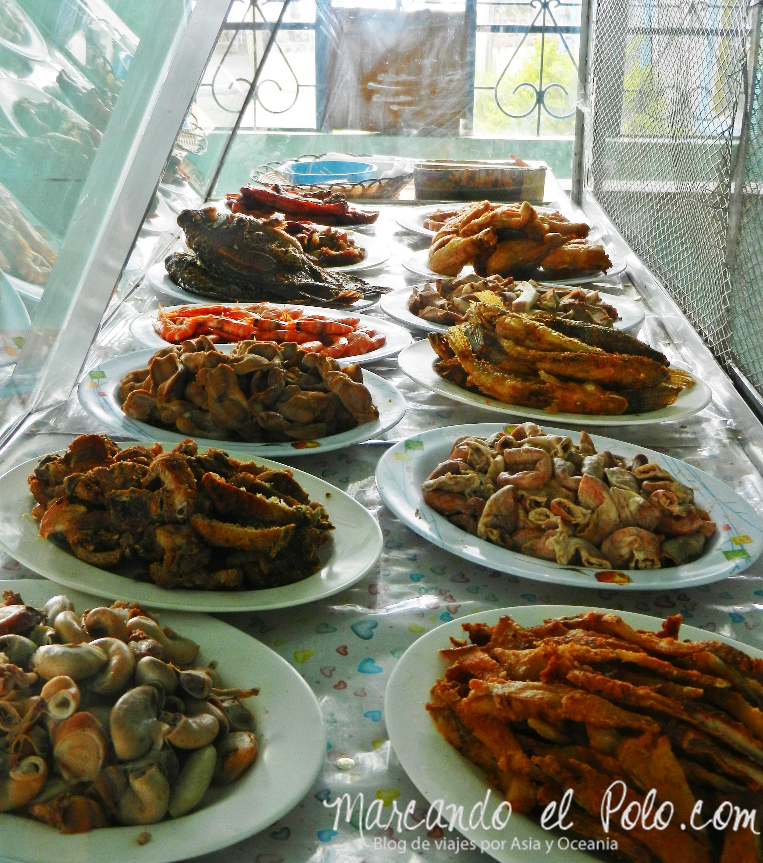 Viajar a Filipinas: carnívoro menú