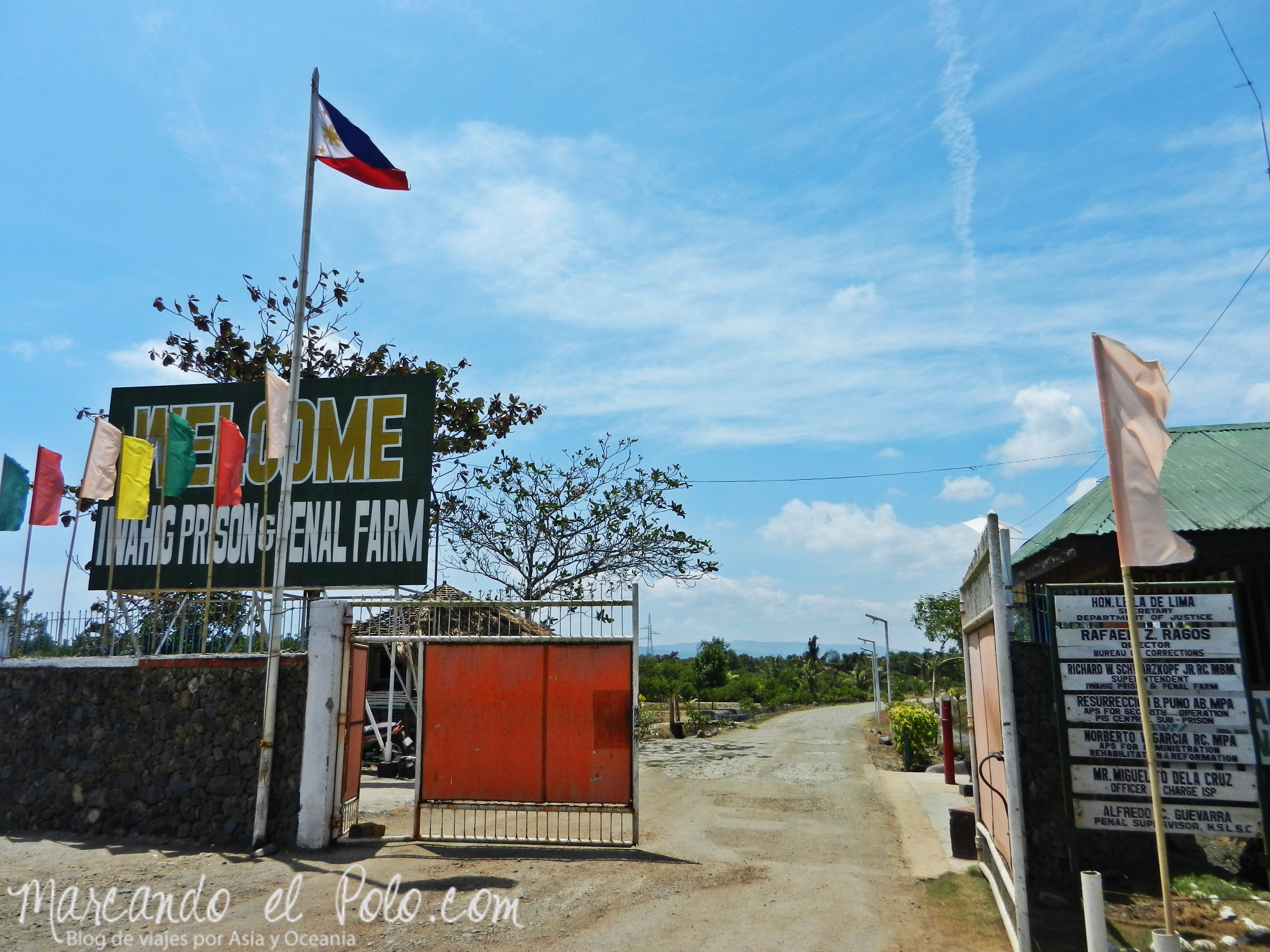 "Cárcel sin rejas, Filipinas: ""Iwahig Prison and Penal Farm"""