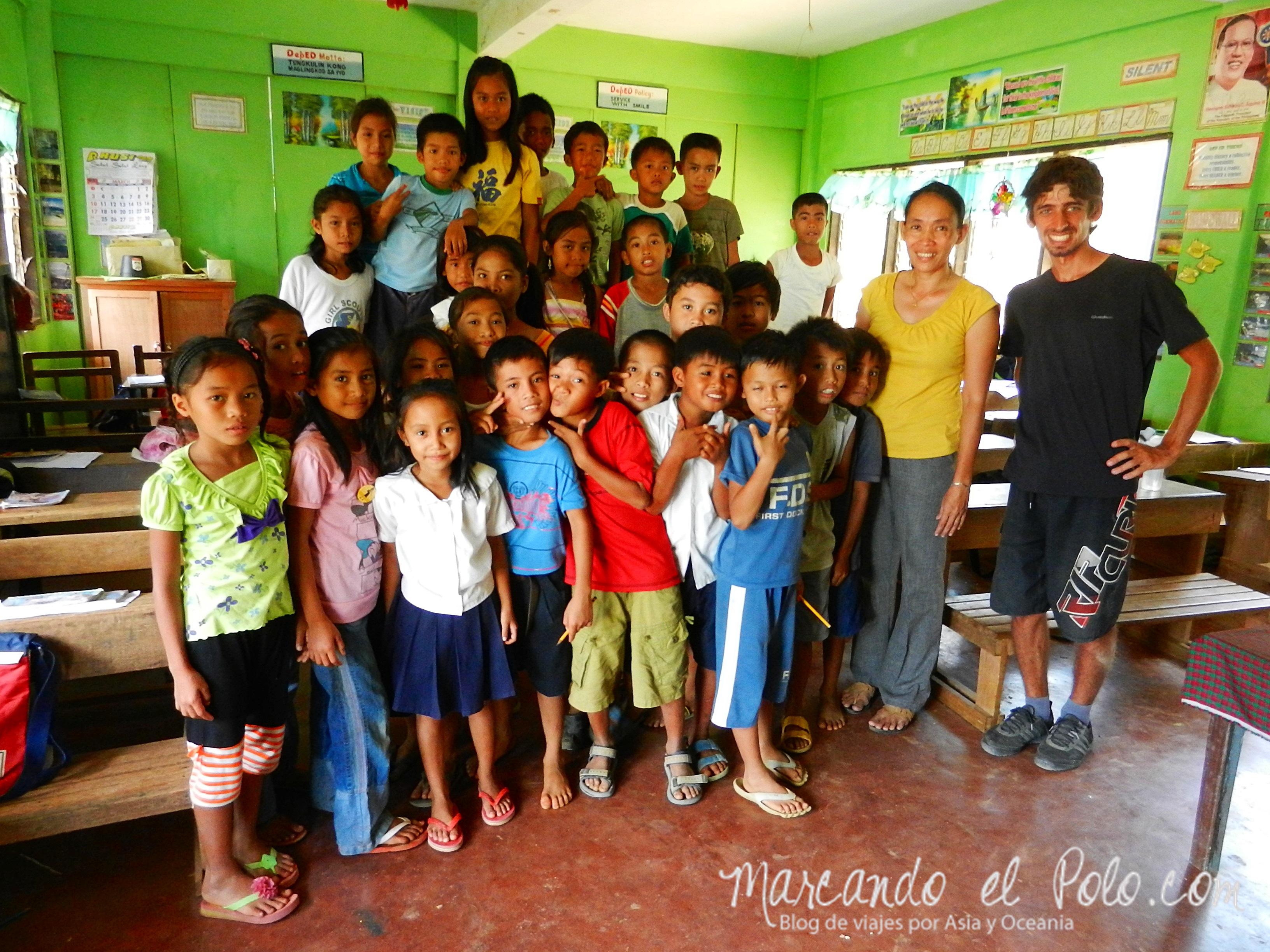 Viajar a Palawan: escuela de Rizal