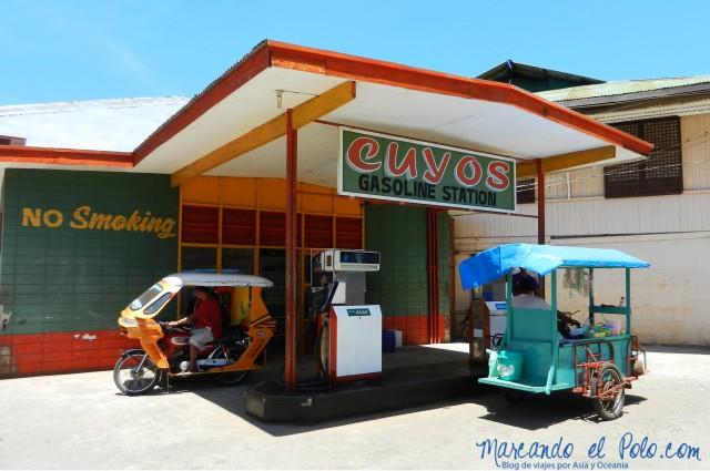 Islas Cuyo, Filipinas: Gasolinera