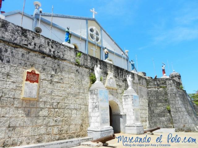 Islas Cuyo, Filipinas: Fuerte Cuyo e iglesia