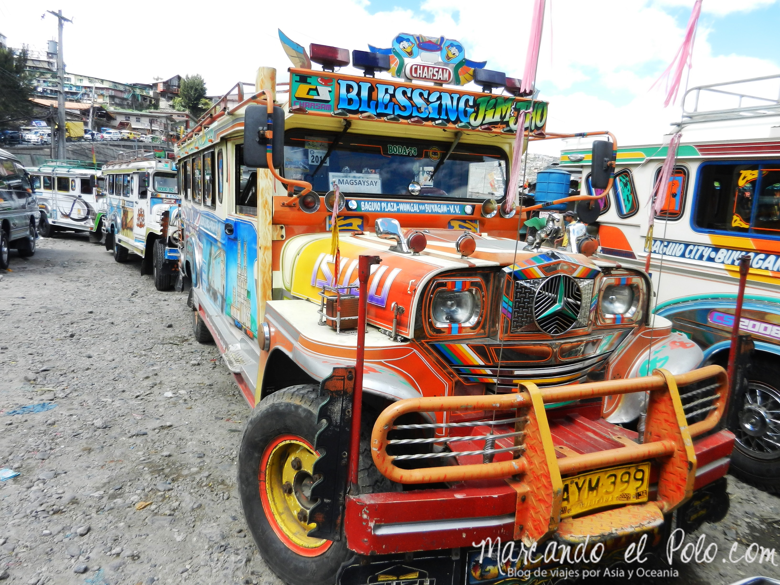 Viajar a Filipinas: Jeepney