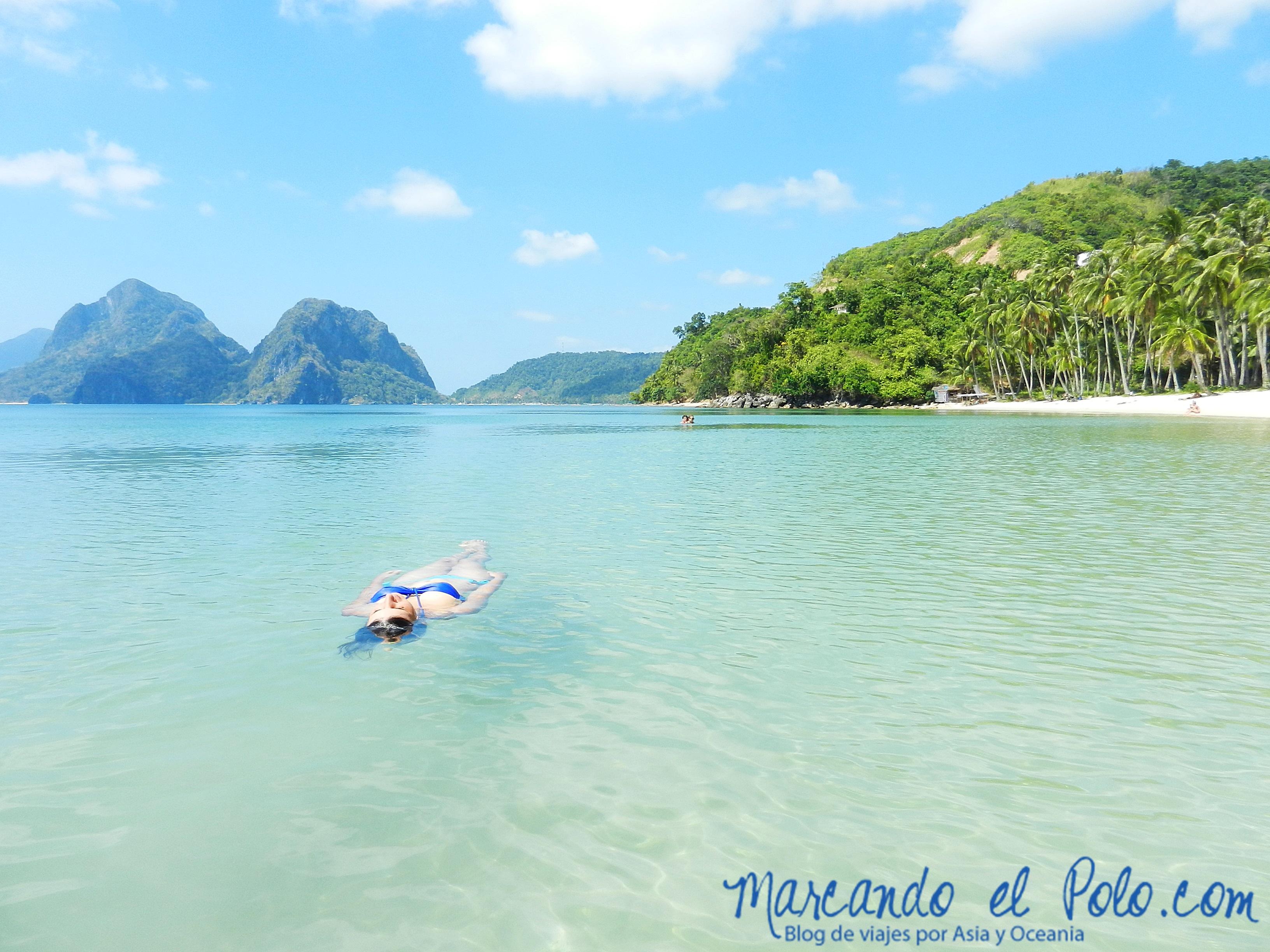 Viajar a Palawan: Las Cabañas, El Nido.
