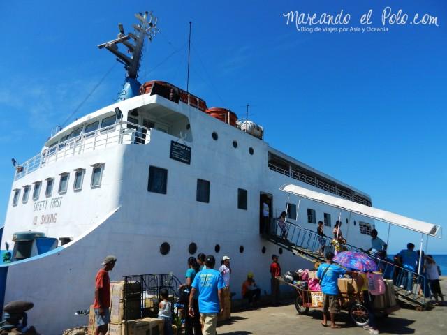 Presupuesto para viajar a Filipinas: ferry