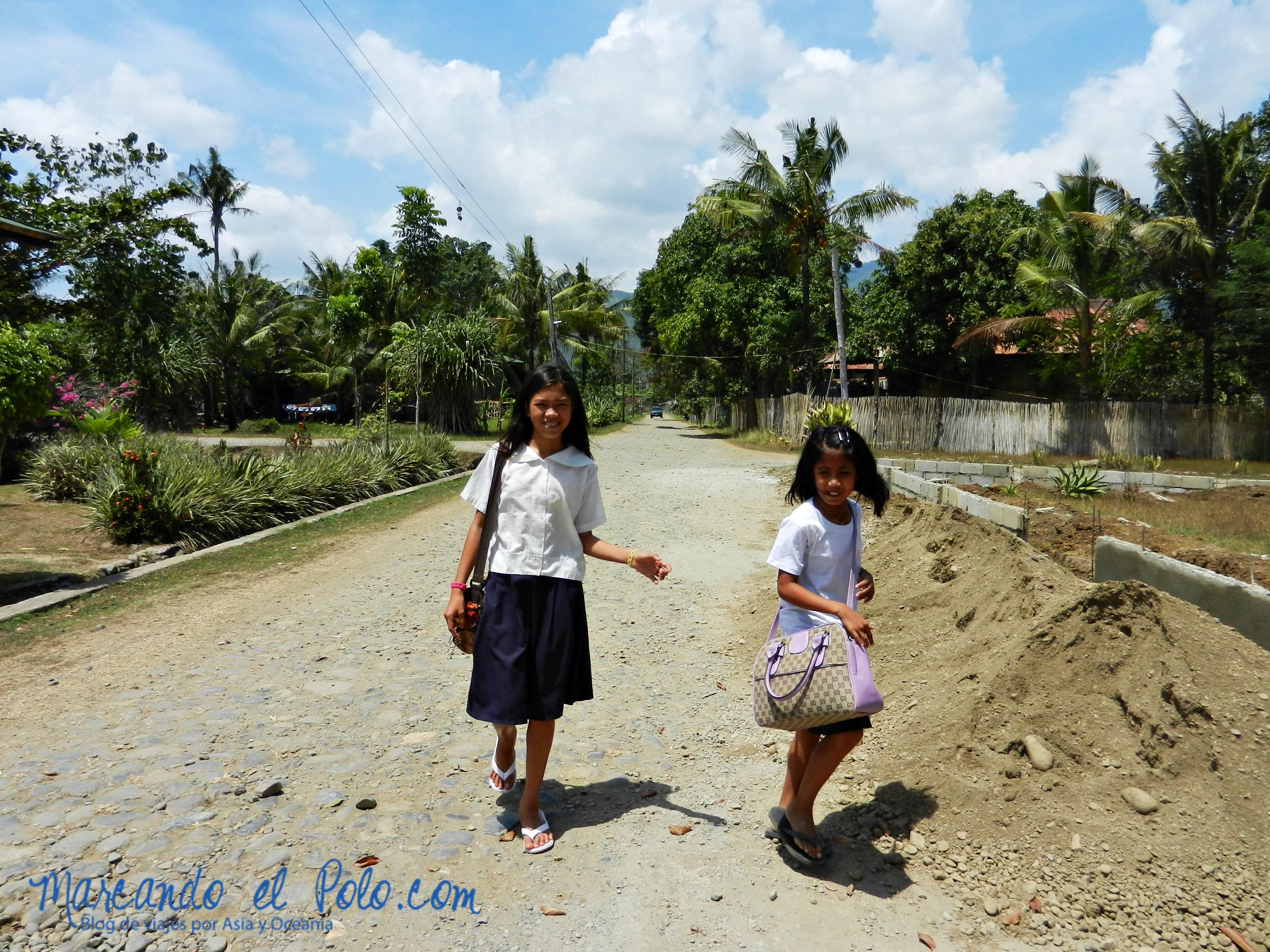 Cárcel sin rejas, Filipinas: escuela dentro del penal.