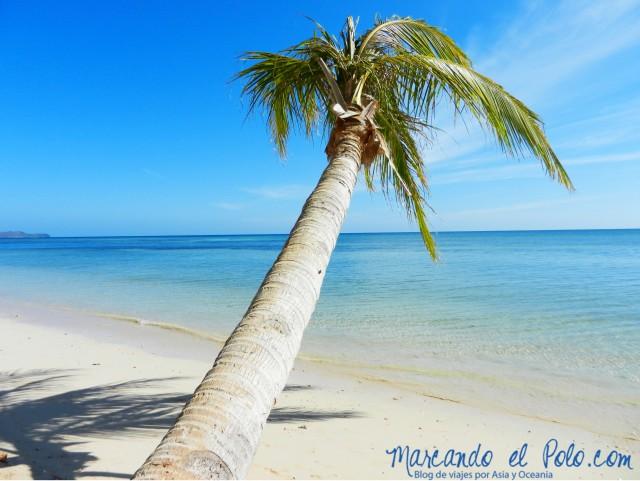 Islas Cuyo, Filipinas: Playa Coco Verde