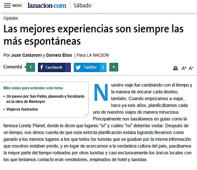 La Nacion - Opinion