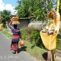 Calle de Ubud Bali, Indonesia
