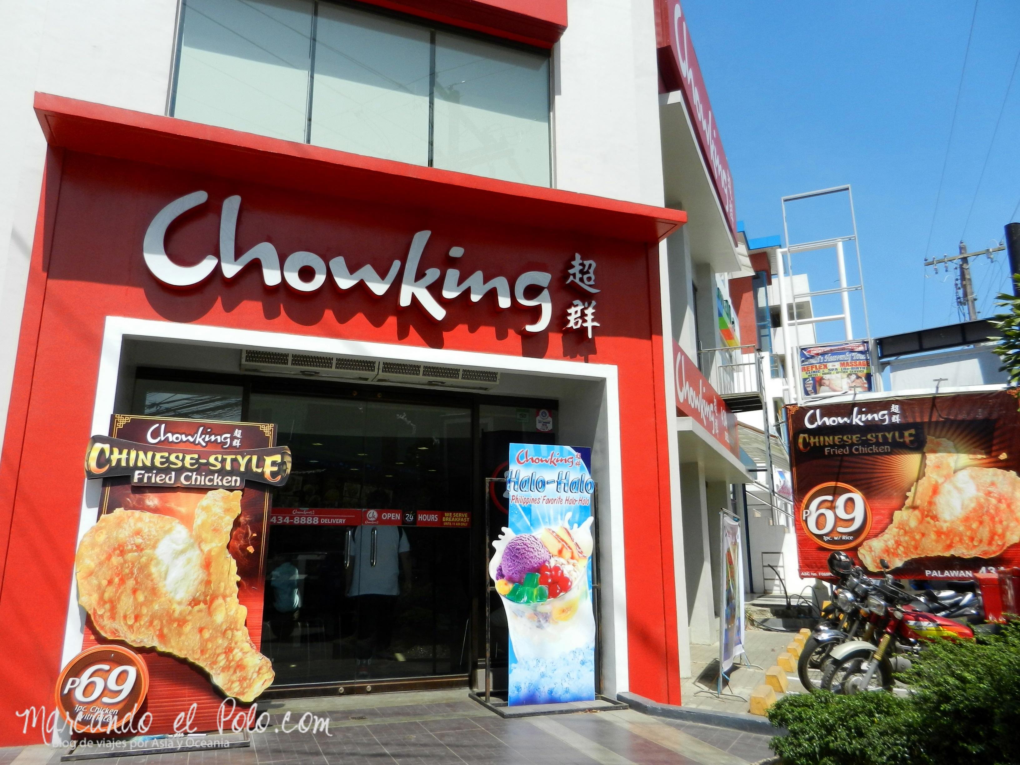 Comida de Filipinas: Chowking