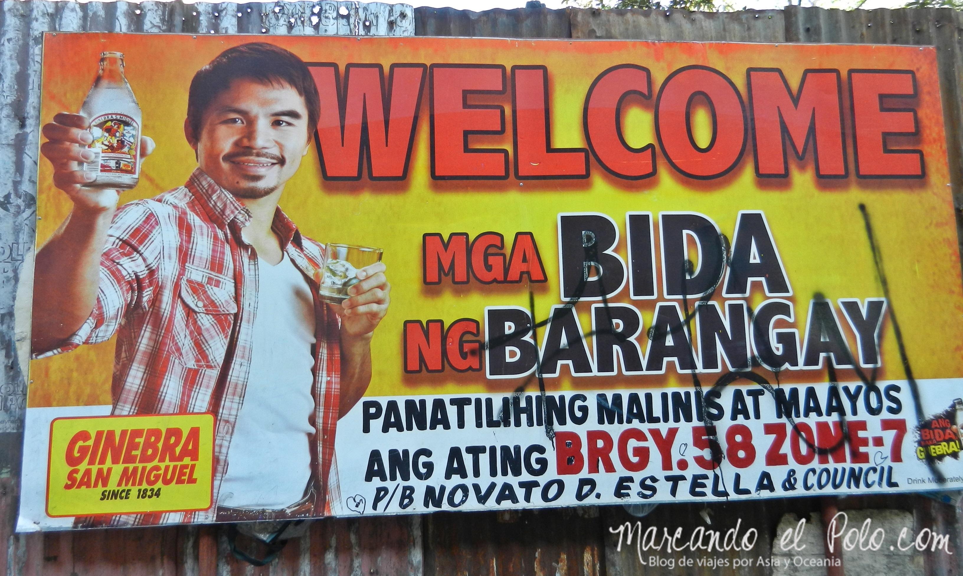 Viajar a dedo en Filipinas: Manny Pacquiao es tema de conversación