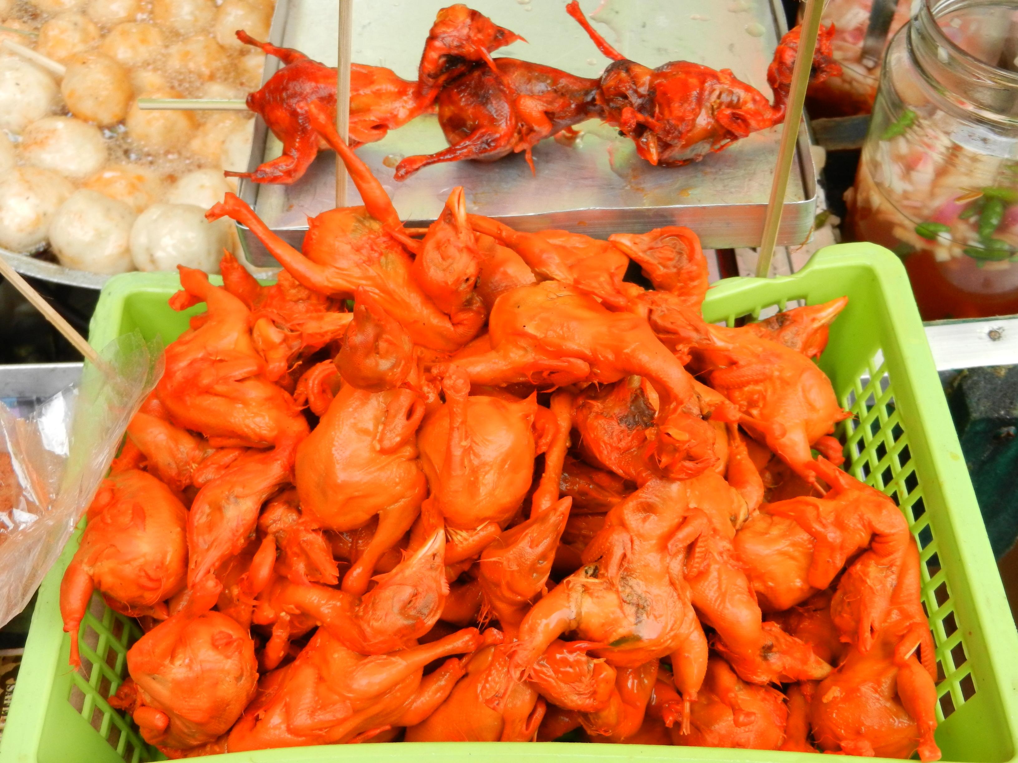 Comida de Filipinas: todo carne