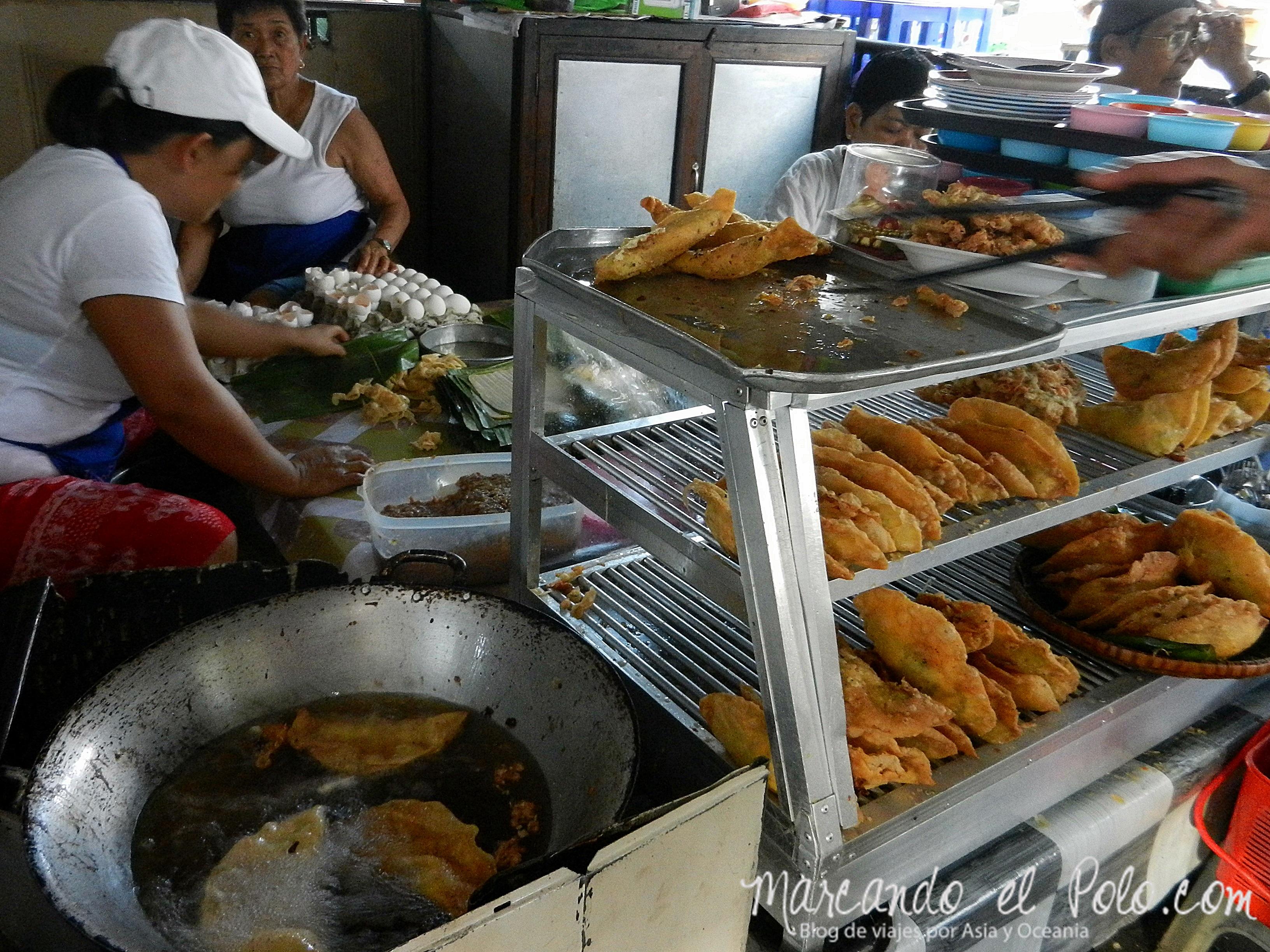 Comida de Filipinas: empanadas