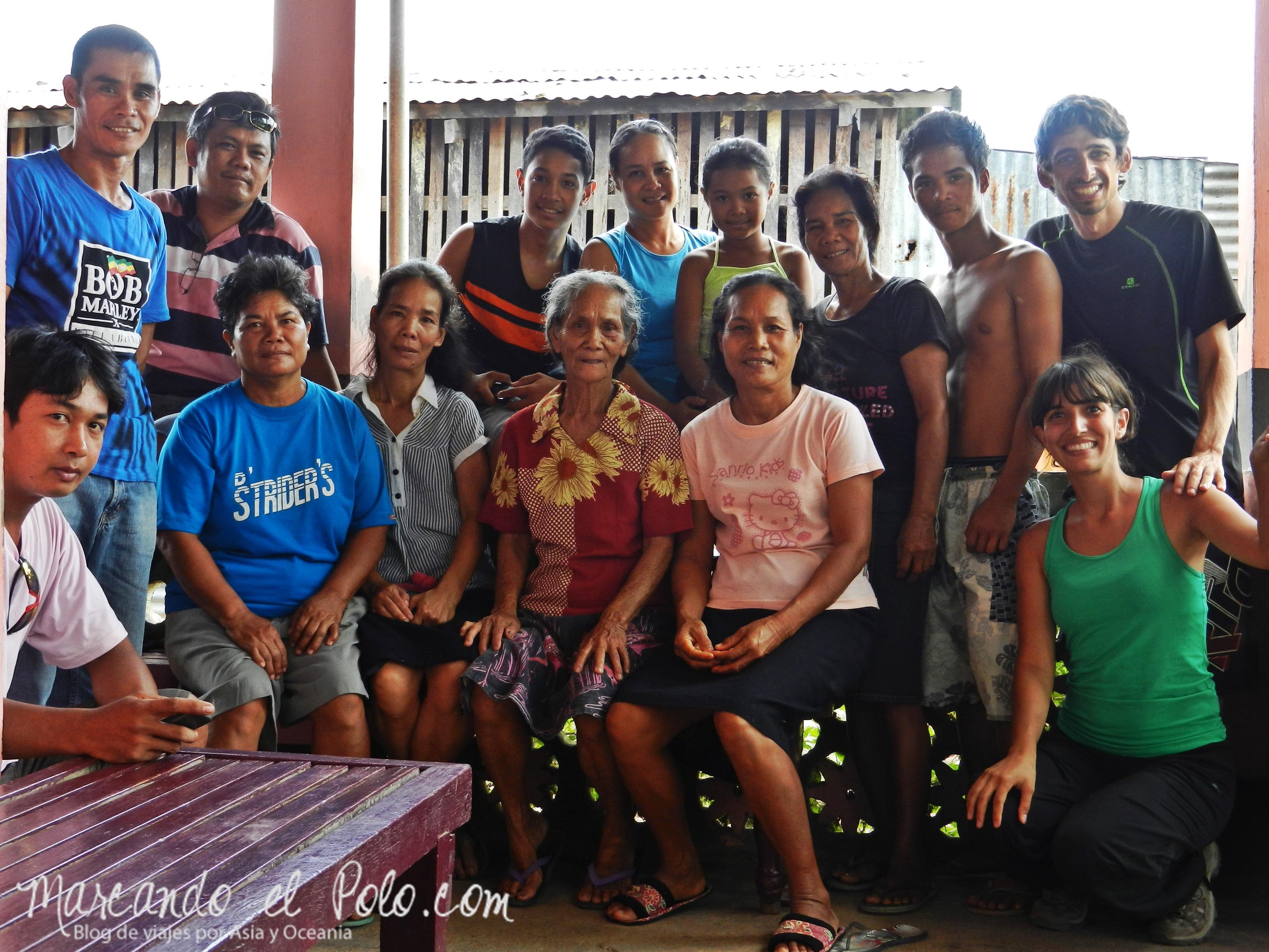 Viajar a dedo en Filipinas: invitados a almorzar