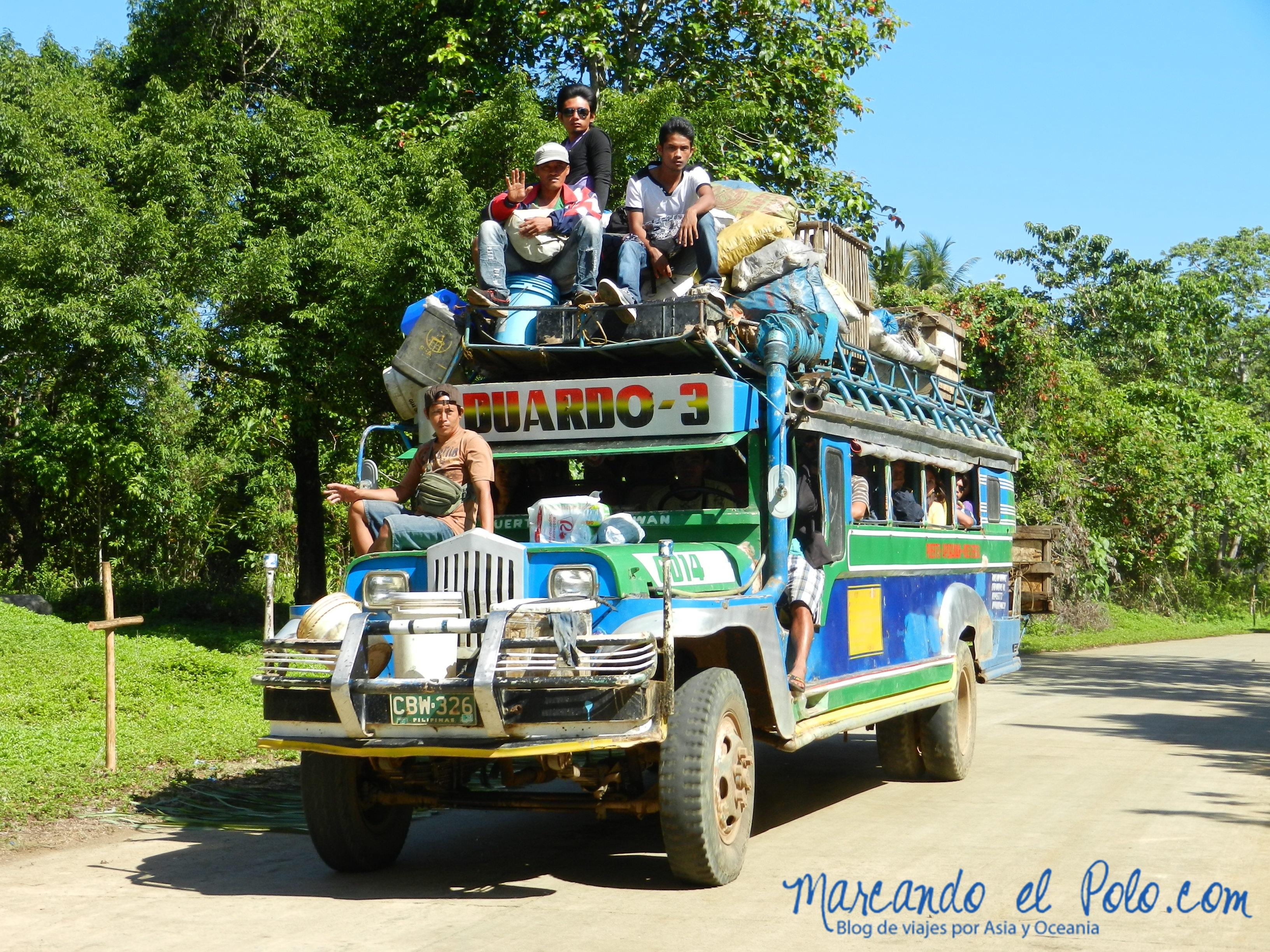 Viajar a dedo en Filipinas: mejor que en jeepney
