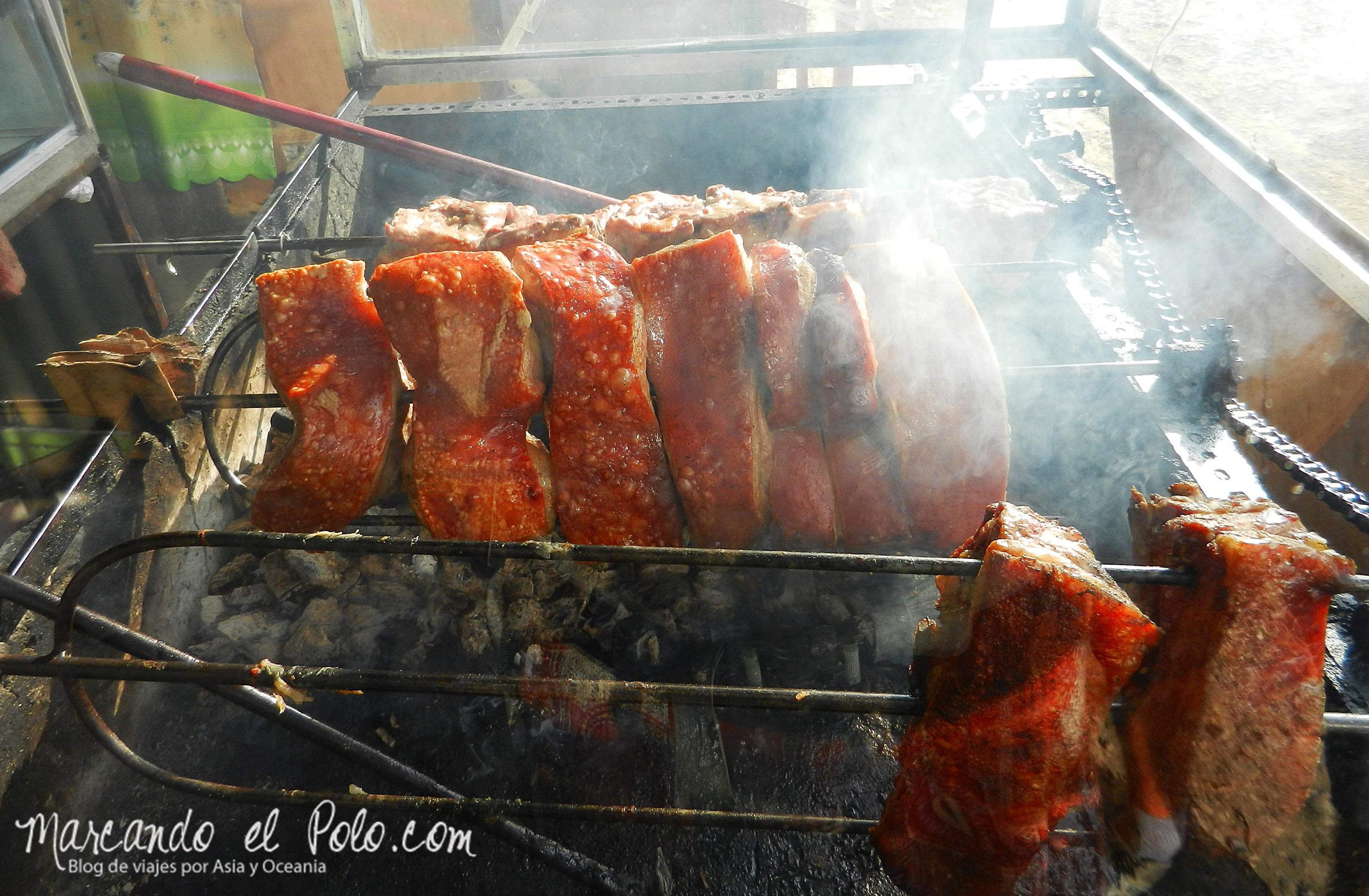 Comida de Filipinas: lechón baboy.