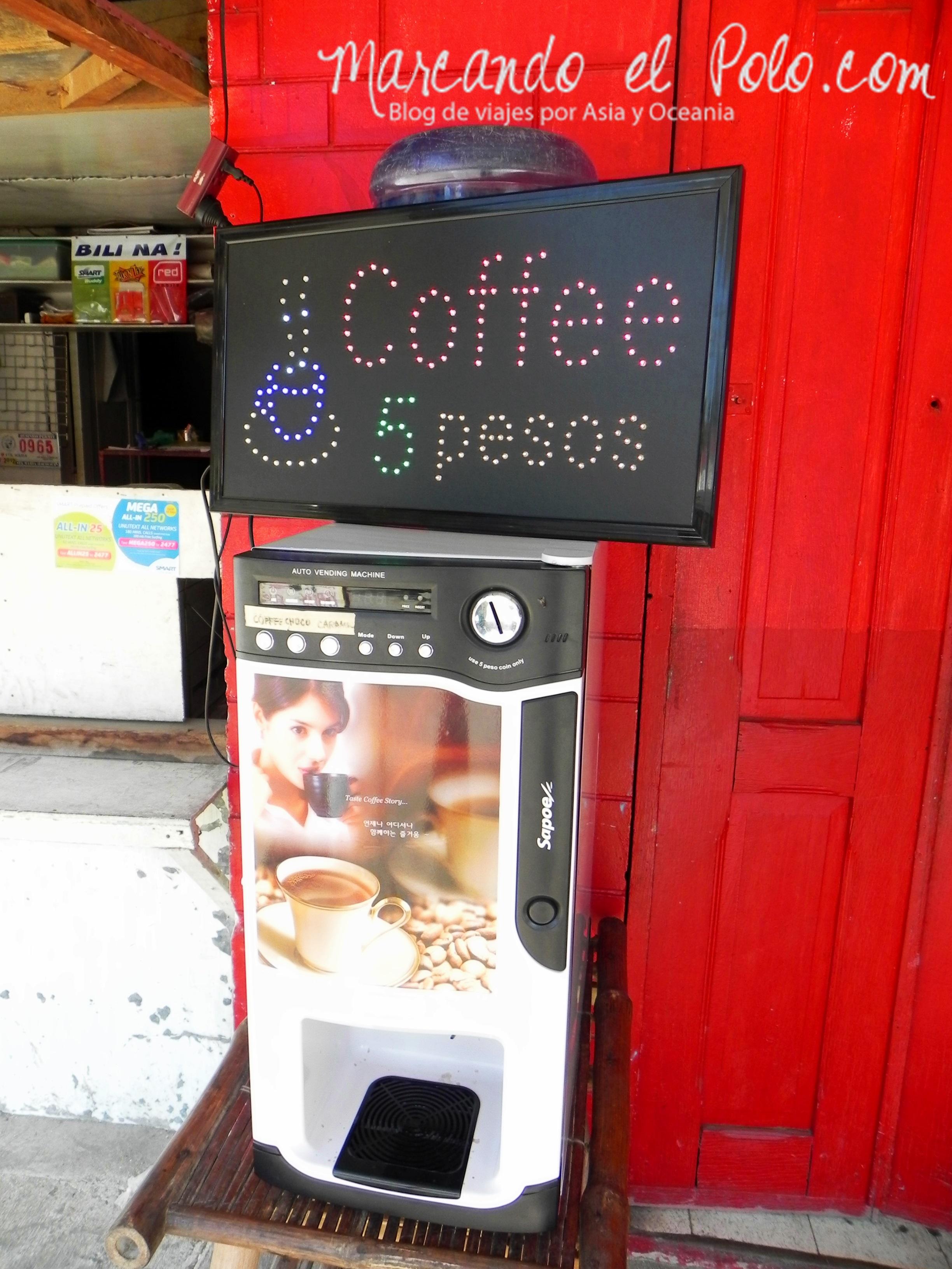Presupuesto para viajar a Filipinas: café