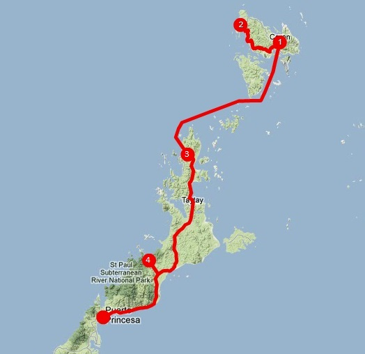 Viajar a Palawan: itinerario norte