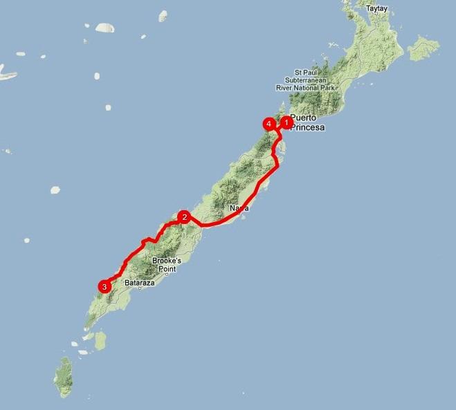 Viajar a Palawan: itinerario sur