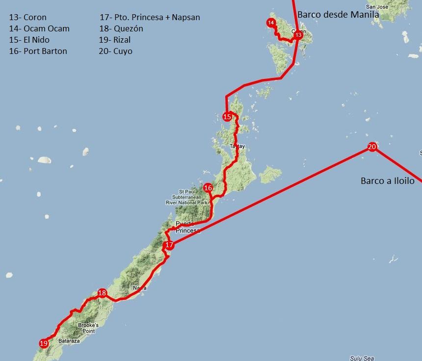 Viajar a Filipinas: itinerario Palawan