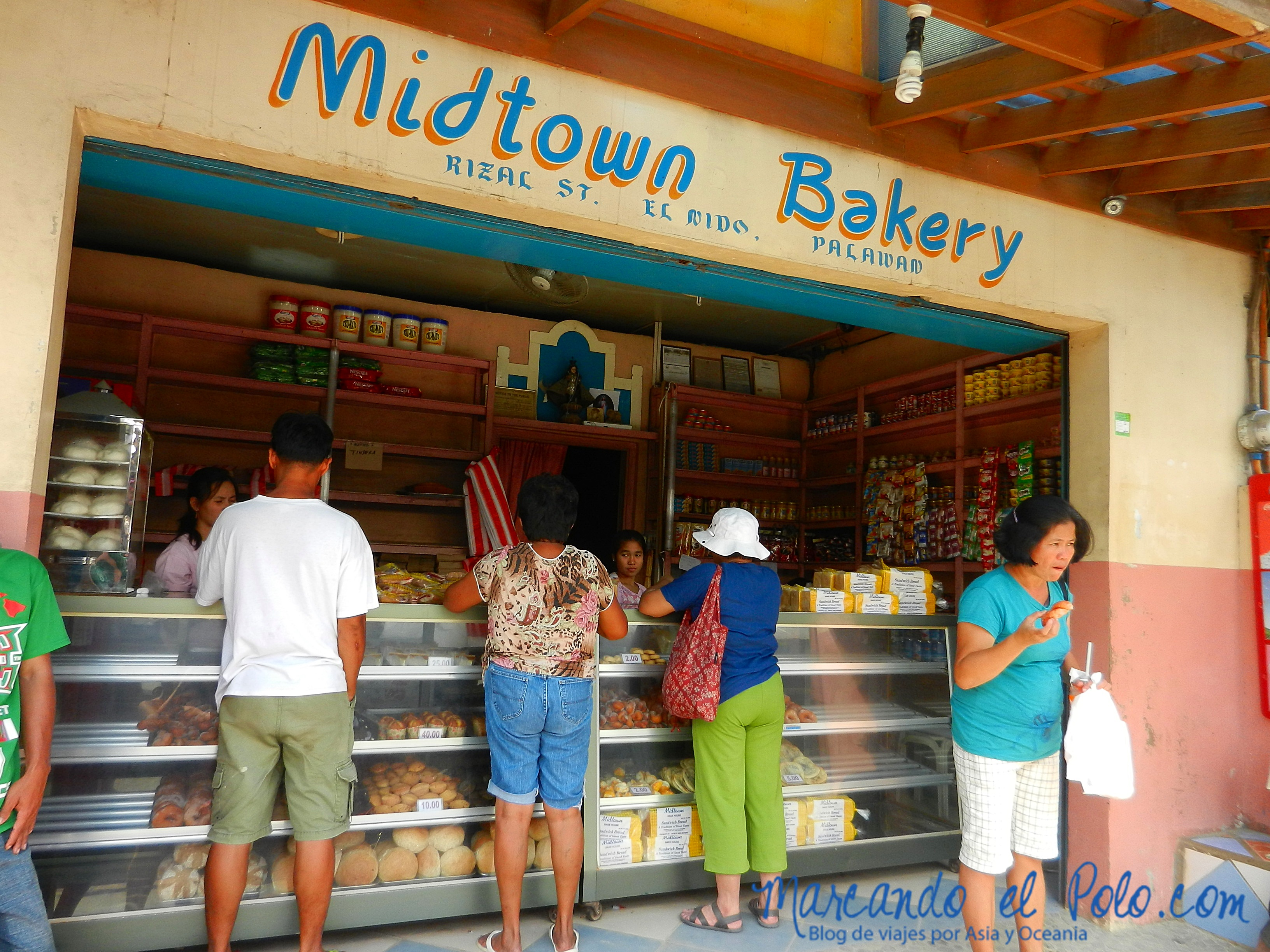 Comida de Filipinas: Panadería