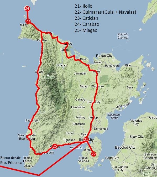 Viajar a Filipinas: itinerario Panay y Guimaras