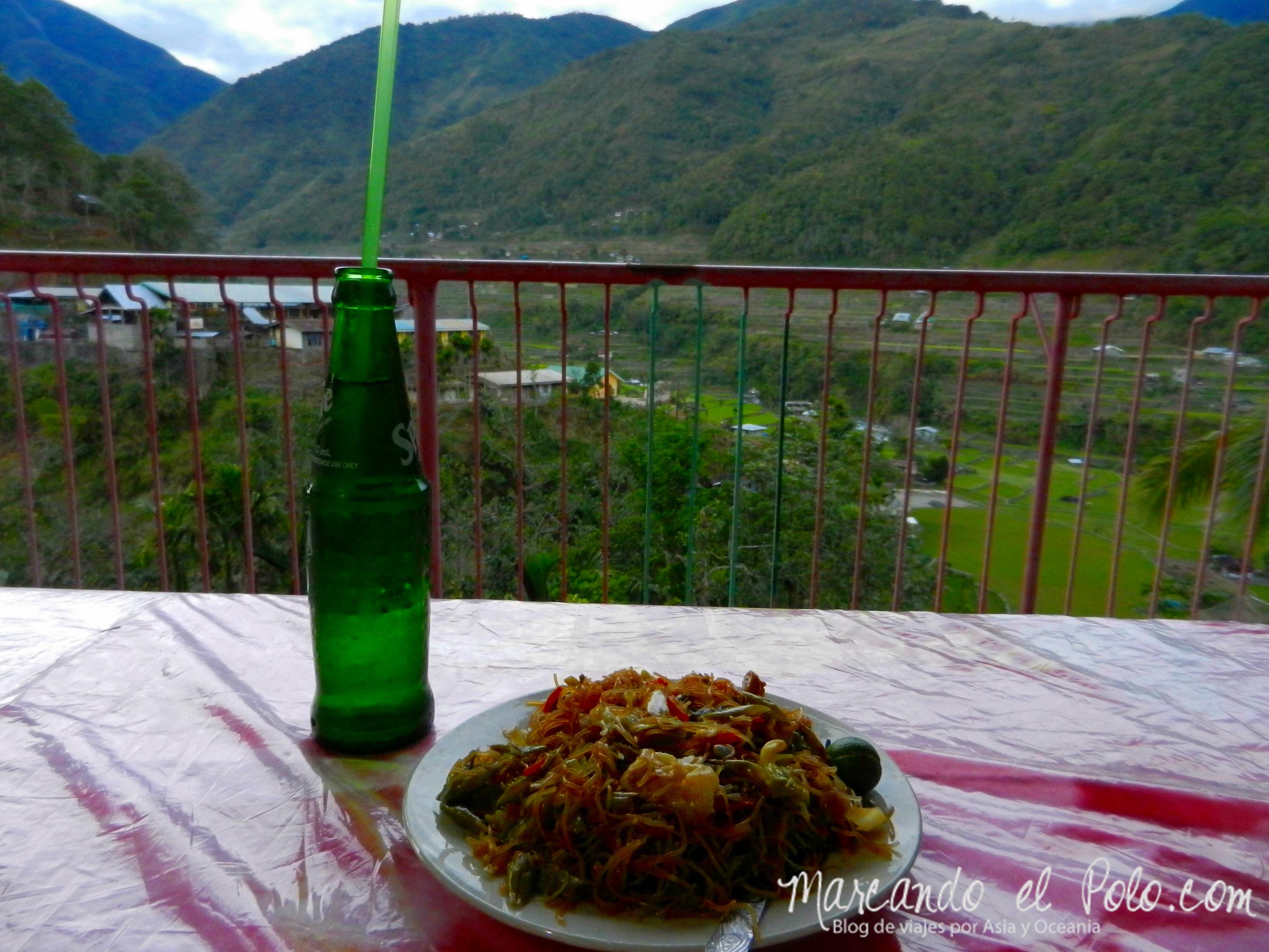 Presupuesto para viajar a Filipinas: comida
