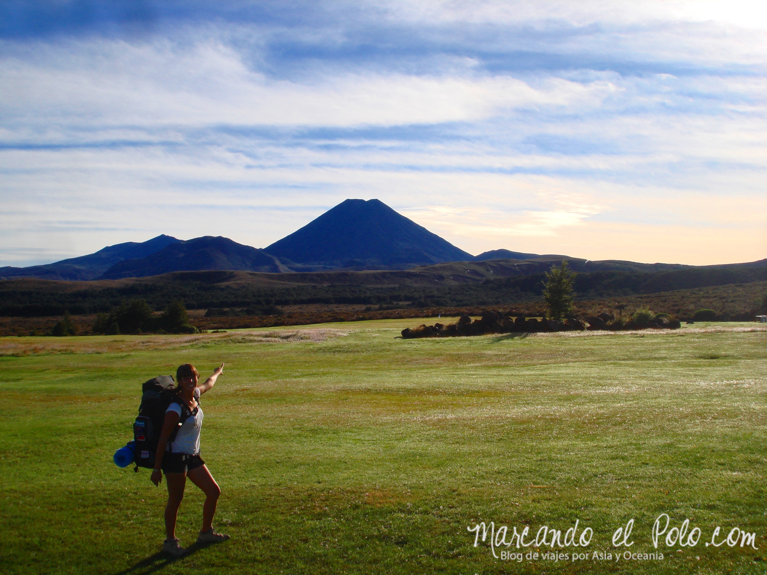 Working Holiday Nueva Zelanda: trekking Tongariro