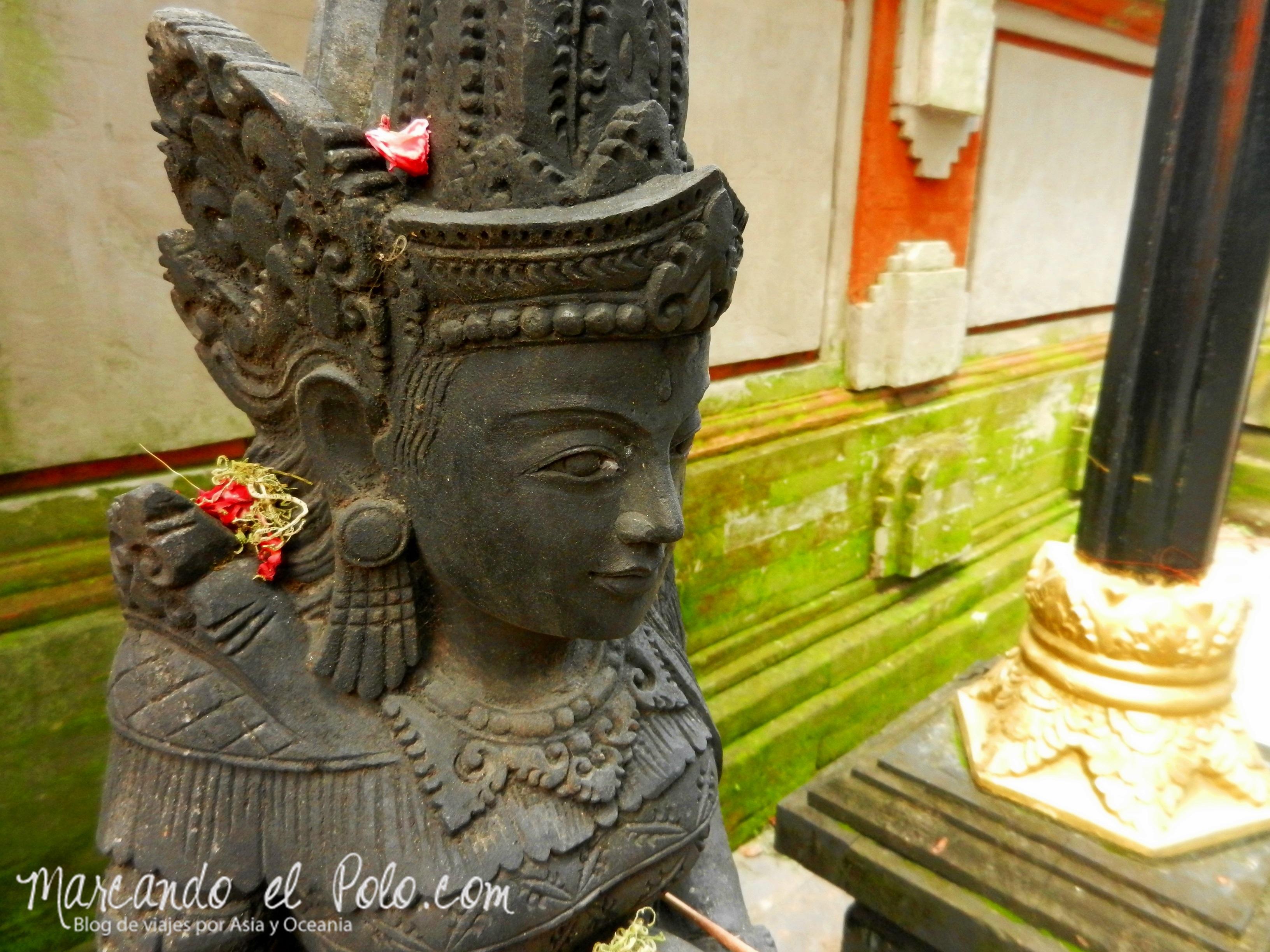 Bali, Indonesia: Templo en Denpasar