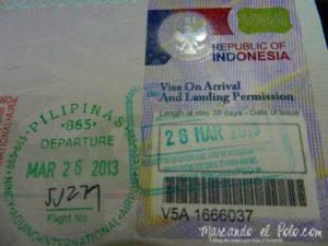 Visas del Sudeste Asiatico - Indonesia
