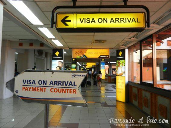 Visa de Indonesia on arrival