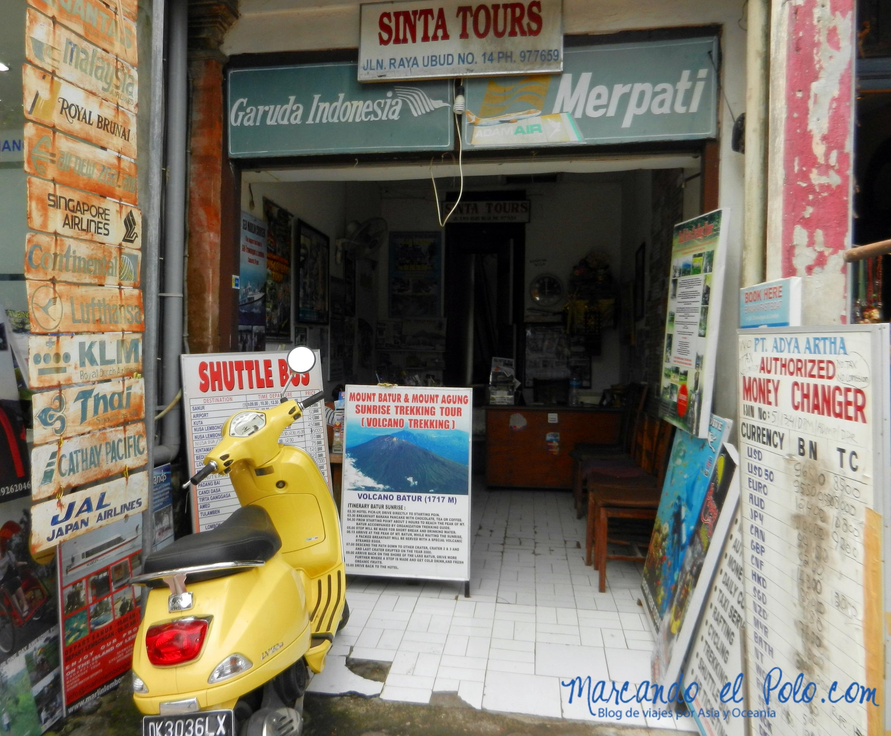 Que ver en Bali - Ubud agencia de viajes