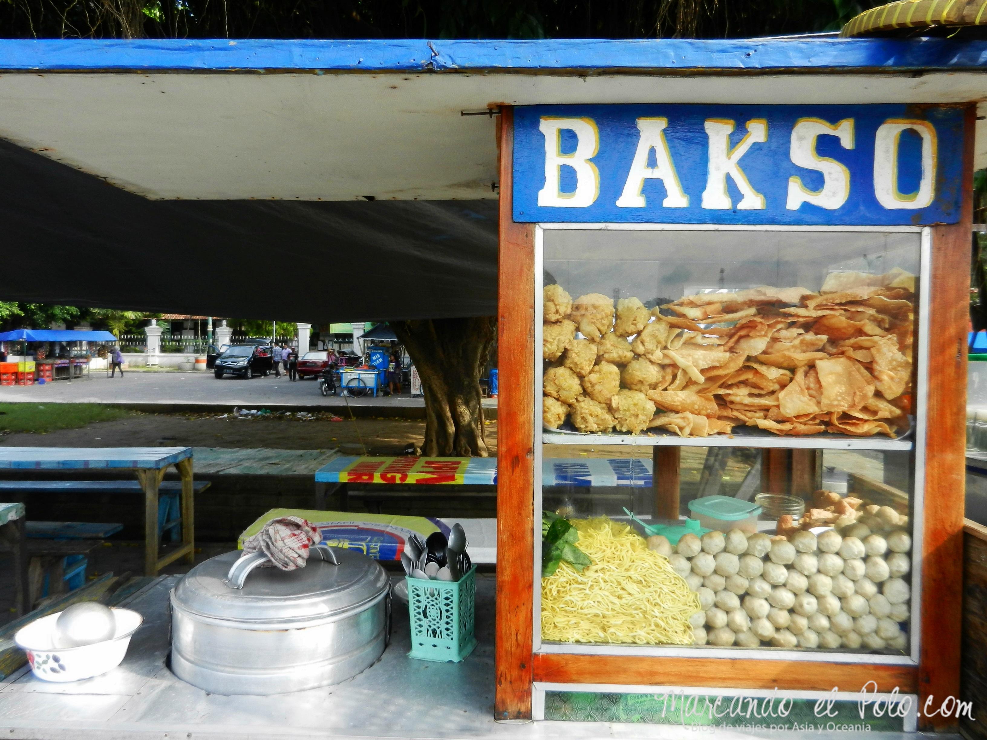 Comida de Indonesia - bakso