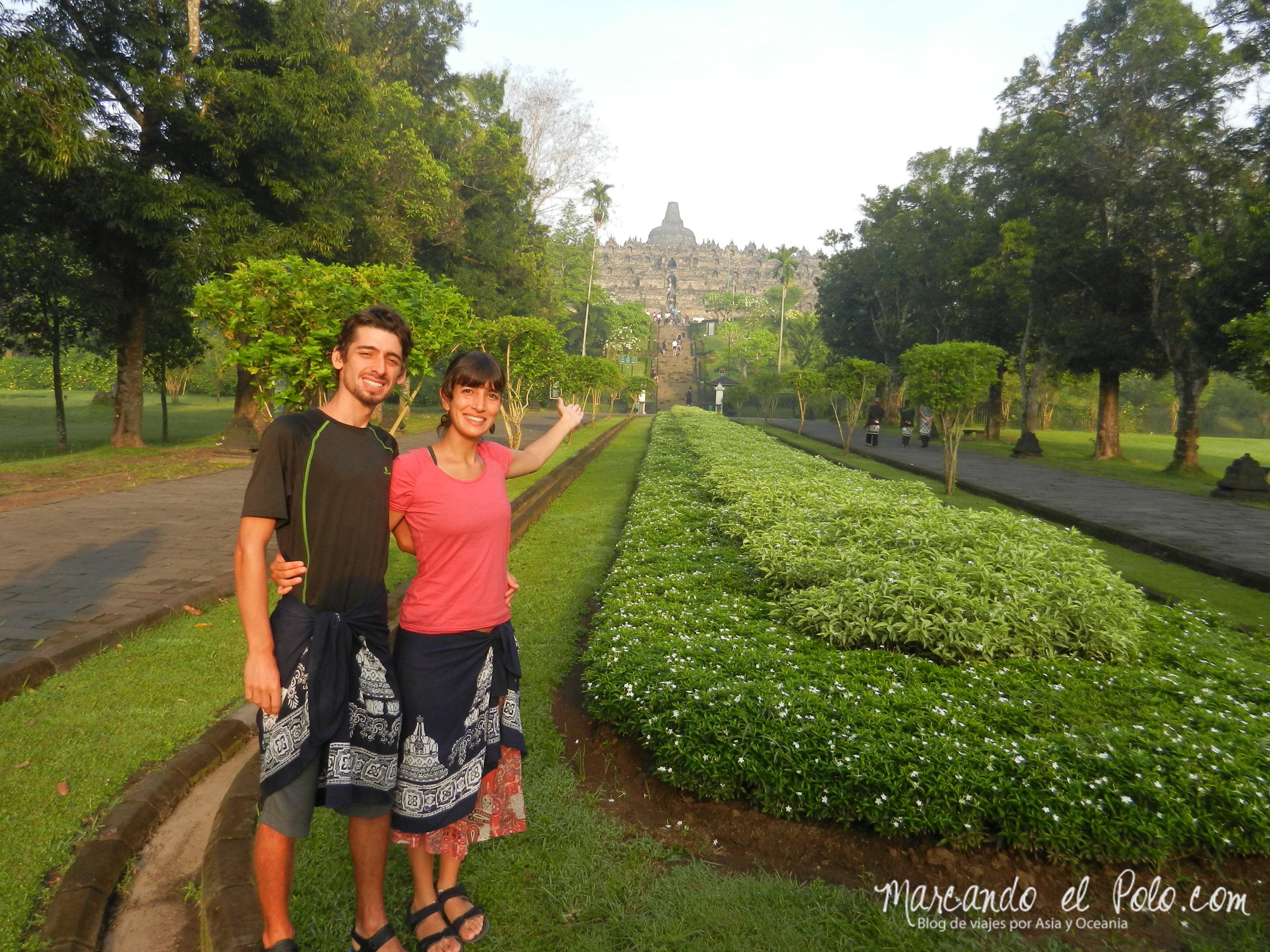 Bienvenidos a Borobudur,Indonesia