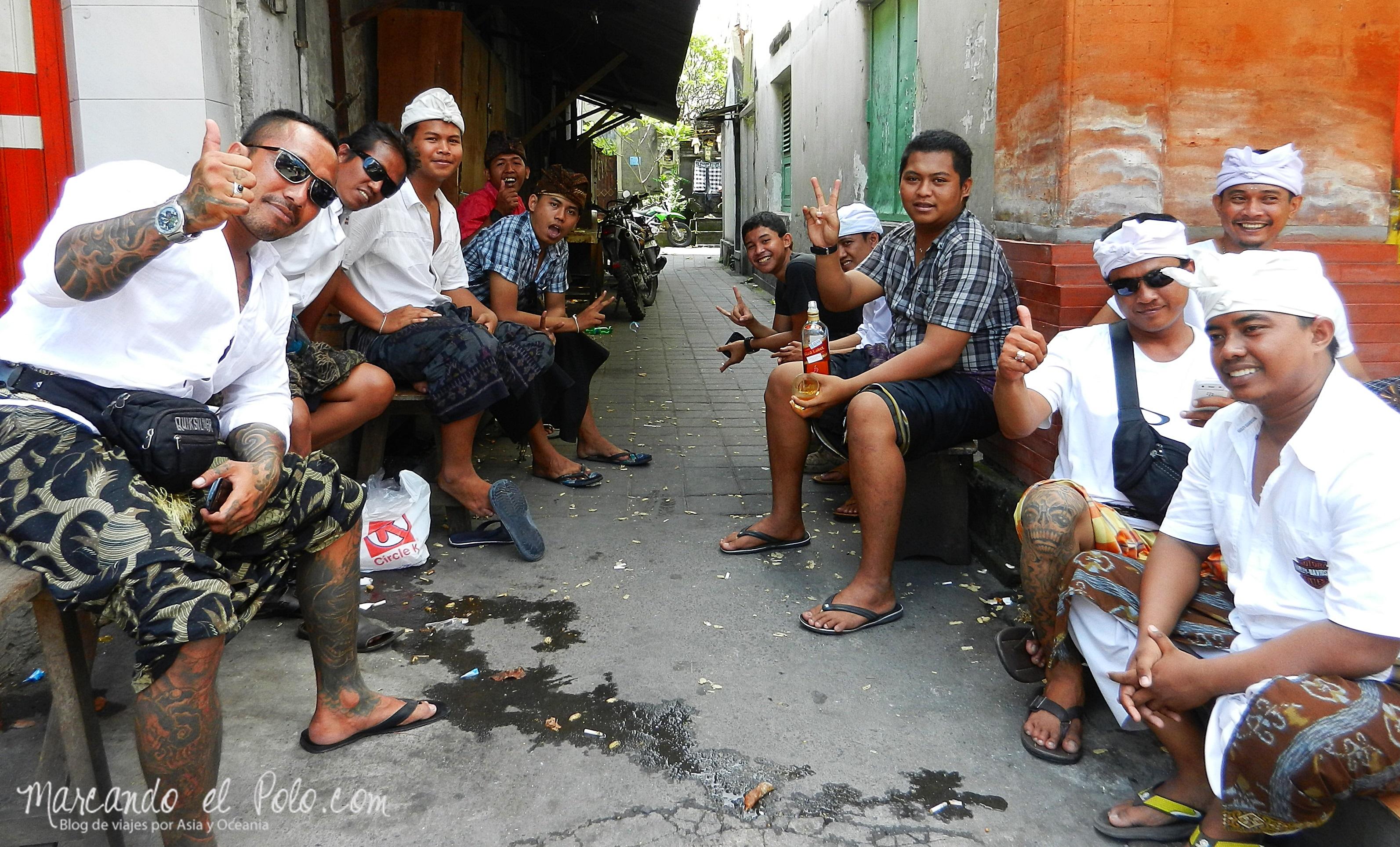 Despues de Galungan, Bali, Indonesia