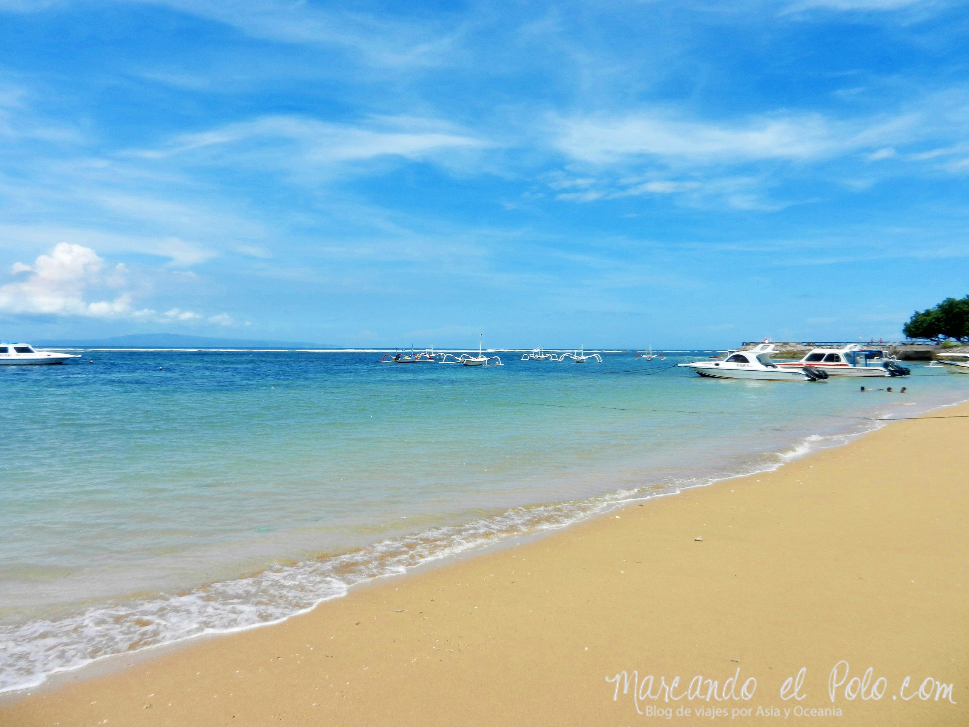 Playa Sanur Bali, Indonesia