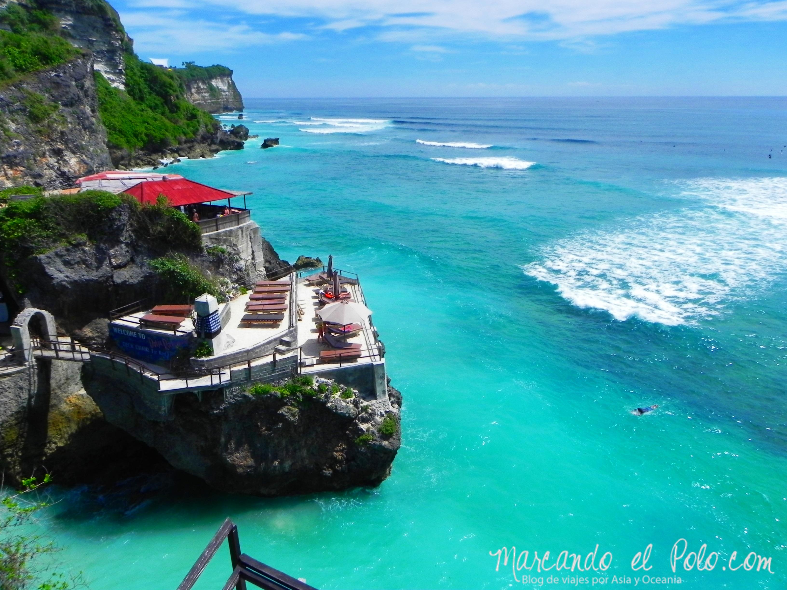 Que ver en Bali - Playa Uluwatu