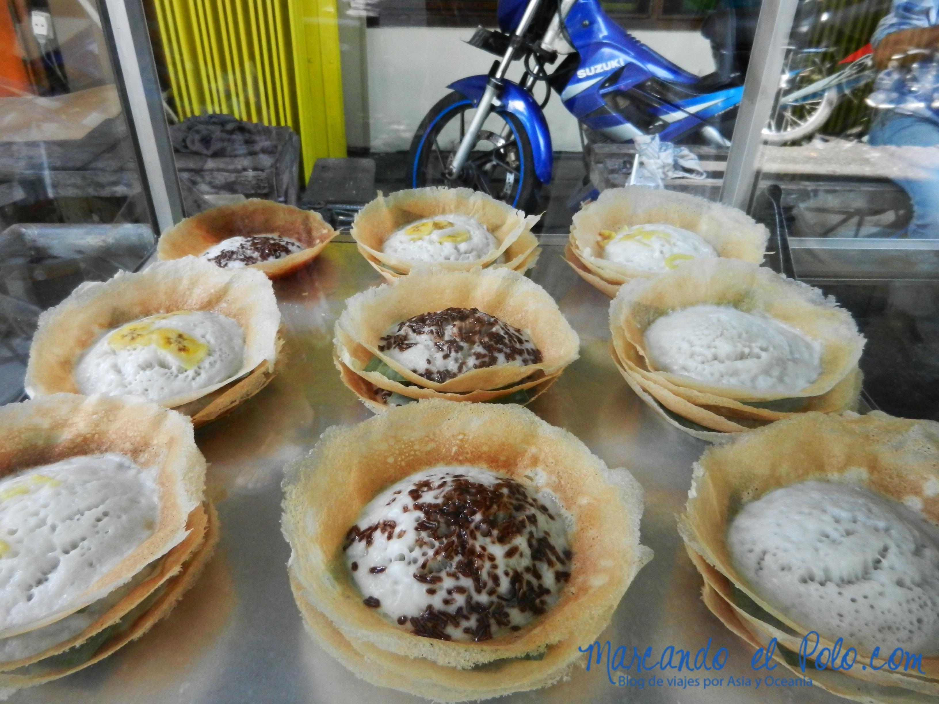 Comida de Indonesia - serabi