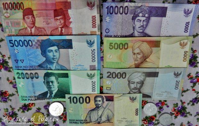 Presupuesto mochilero indonesia - Rupiah
