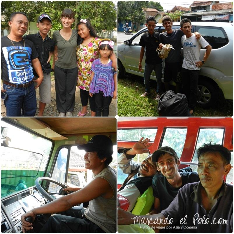 Autostop en Indonesia 1