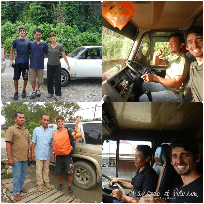 Autostop en Indonesia 2