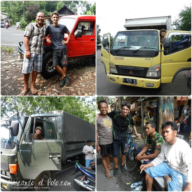 Autostop en Indonesia 3