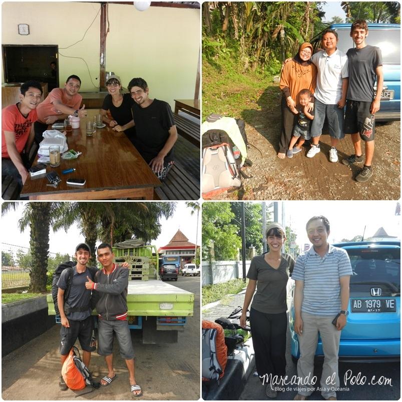 Autostop en Indonesia