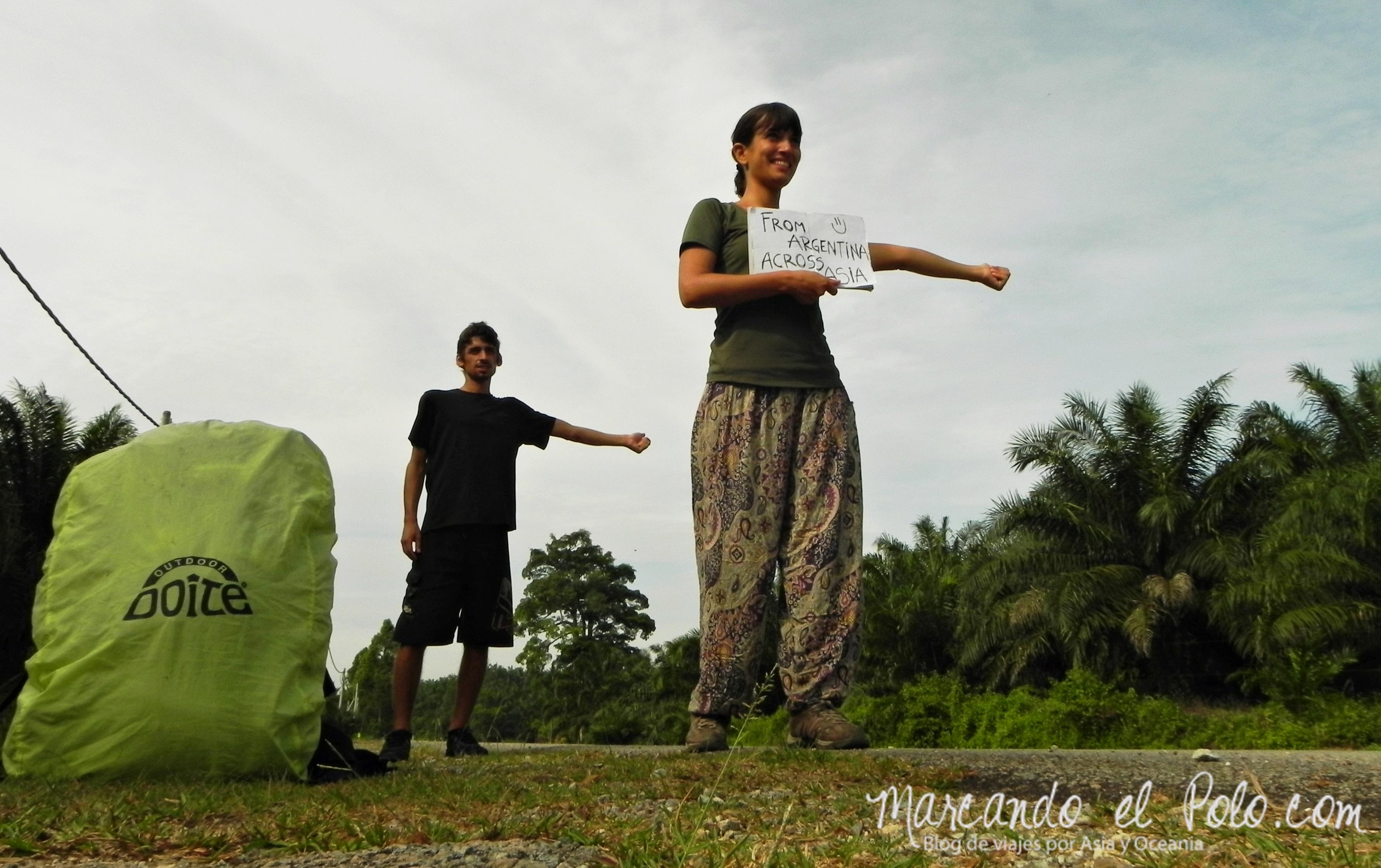Autostop Malasia