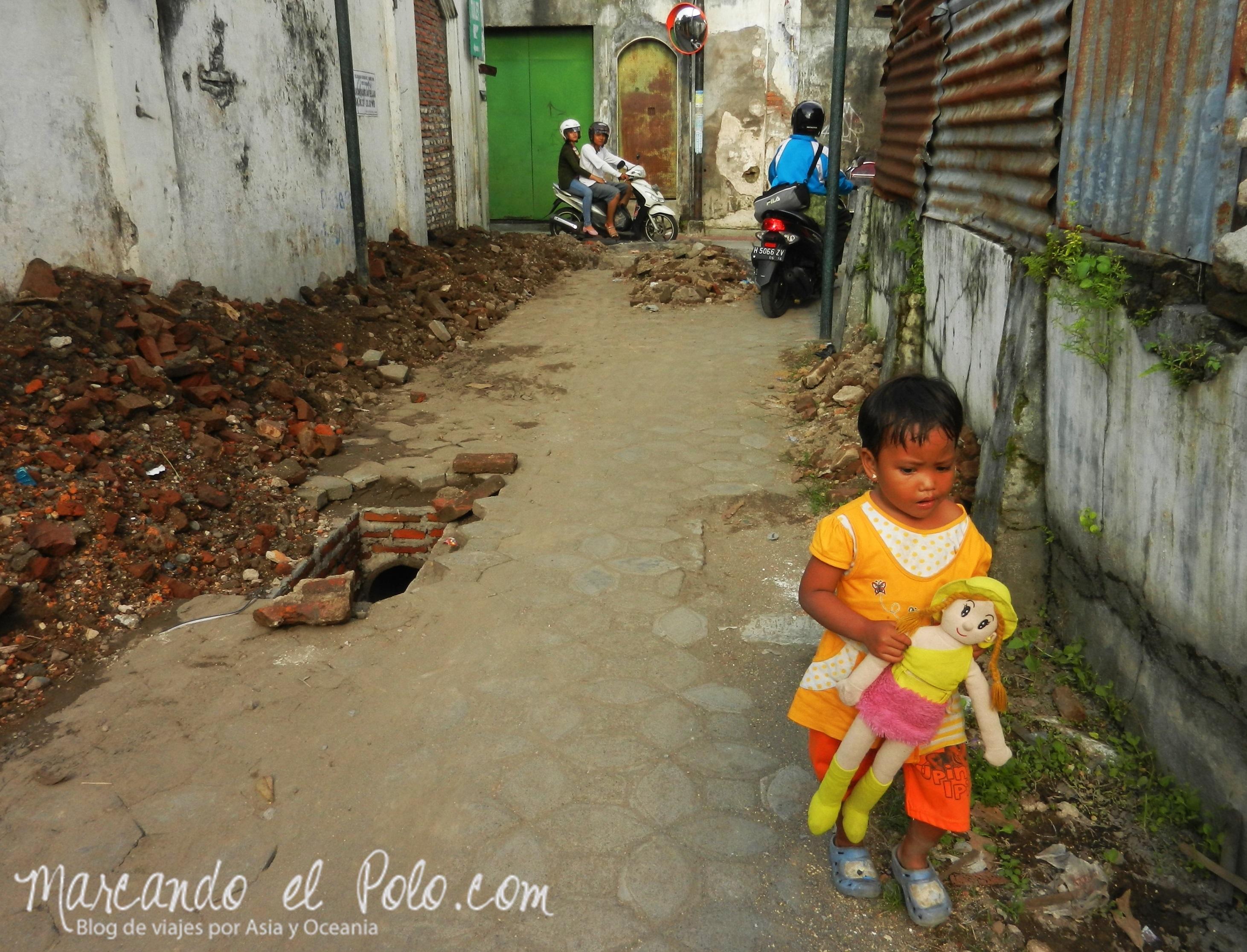 Ciudad Antigua de Solo, Java, Indonesia