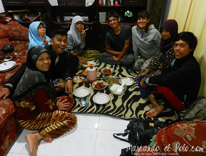 Couchsurfing Bukittinggi, Indonesia