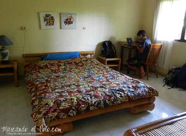 Couchsurfing de lujo en Ubud, Bali.