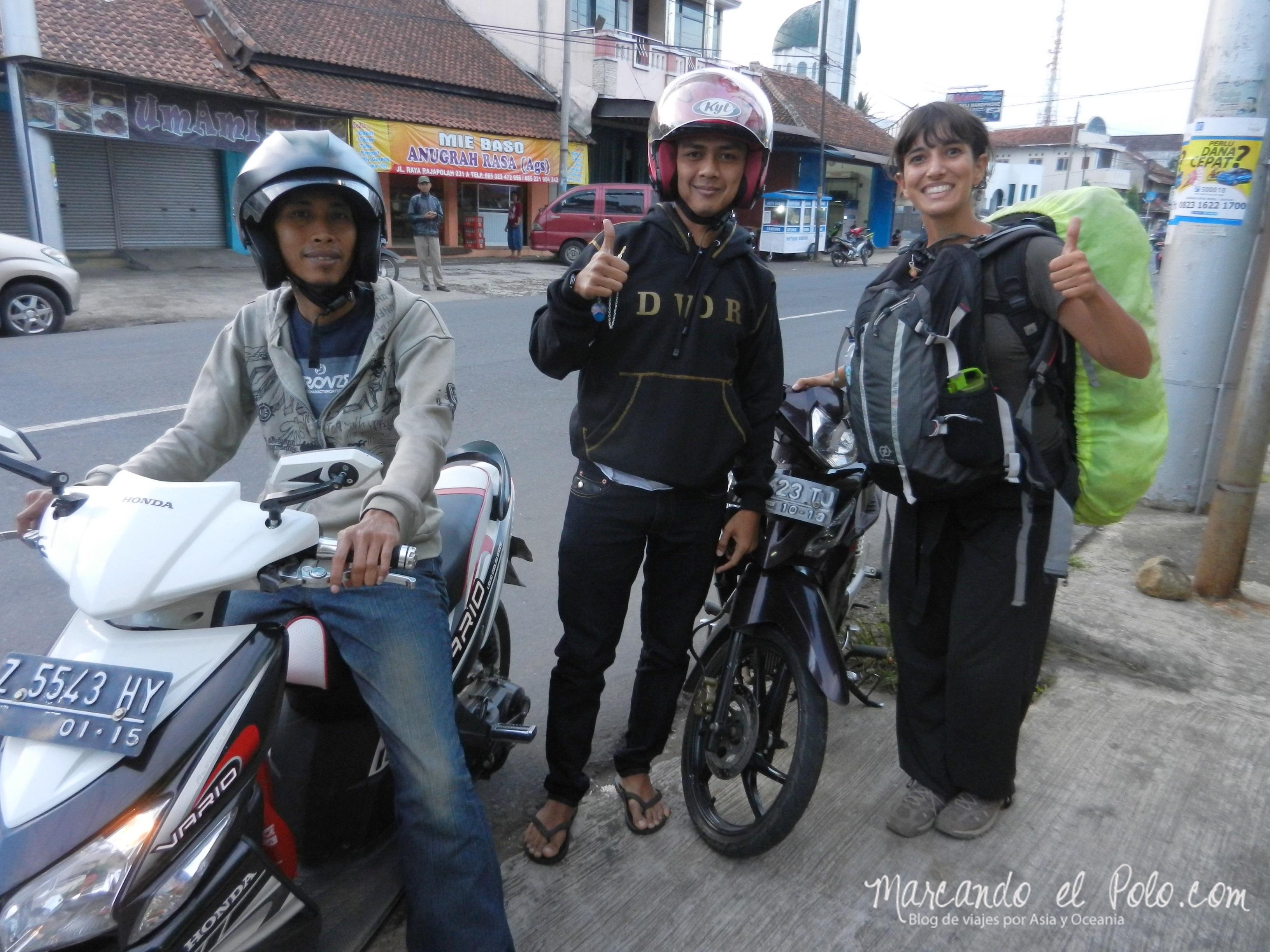 ¡Las motos también nos frenaron!